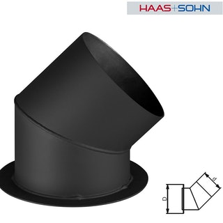 Haas+Sohn Wechselstutzen für Rauchrohreduzierung