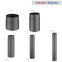 Haas+Sohn Rauchrohr für Kaminöfen Ø15 cm