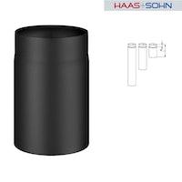 Haas+Sohn Rauchrohr für Kaminbausatz-&einsatz- perl-schwarz
