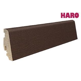 HARO Steckfußleiste für Parkett geölt Thermoesche Mezzo