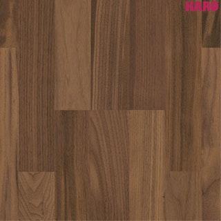 HARO Parkett Serie 4000 Amerikanischer Nussbaum-matt versiegelt SB