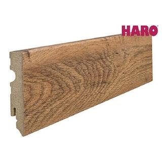 HARO Steckfußleiste für Laminat Eiche Altholz