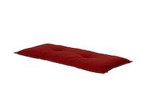 Hartman Bankauflage HAVANA 120 x 50 x 9 cm, 100 % Polyacryl red
