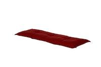 Hartman Bankauflage HAVANA 150 x 50 x 9 cm, 100 % Polyacryl red