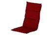 Hartman Klappsessel-Auflage HAVANA 123 x 50 x 5 cm, 100 % Polyacryl red