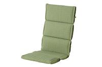 Hartman Klappsessel-Auflage CASUAL 123 x 50 x 5 cm, 100 % Polyester green