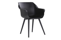 Hartman Armchair SOPHIE Studio Aluminium carbon black / Kunststoff carbon black