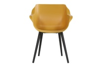 Hartman Armchair SOPHIE STUDIO Aluminium carbon black / Kunststoff curry yellow