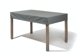 Heinemeyer Abdeckhaube für Tische  200 x 100 cm, Teak Safe grau