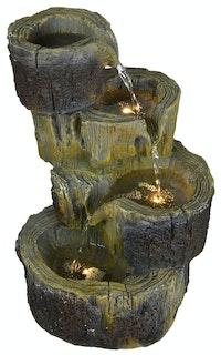 """Heissner Gartenbrunnen """"Baumstümpfe"""" (016585-00)"""
