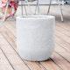 "Gartenbrunnen ""Zylinder LED"", white color, 41x41x45cm (016608-04)"