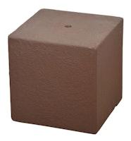 "Heissner Gartenbrunnen-Sockel ""Cube"", Terracotta (016611-17)"
