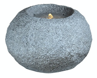 "Heissner Gartenbrunnen ""grey Rock LED"" (016634-09)"