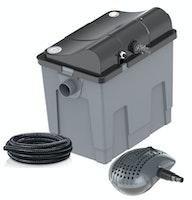 Heissner Durchlauffilter-Set 10m³ - 3300 l/h - 11W UVC (FPU10100-00) Modell 2021
