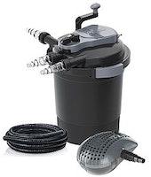 Heissner Teichaußenfilter-Set mit der Pumpe HFP3500 (FPU10000-00) Modell 2021