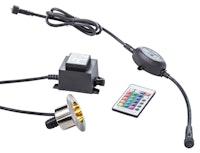 Heissner RGB-Quellsteinbeleuchtung, inkl. Trafo und RGB-Controller (L490-00)