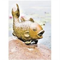 Heissner Teichfigur großer Fisch (003291-00)