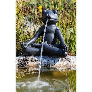 "Heissner Teichspeier ""Yoga-Frosch"""