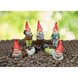 Die Waldmänner, Serie mit 5 Gartenzwergen (06222-00)