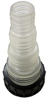 Heissner Schlauchanschluss inkl. Überwurfmutter (ET10-F1002)