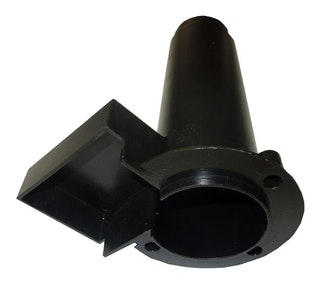 Heissner Kunststoffeinsatz f. Quarzglasröhre (ET10-F380T)