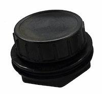 Heissner Schmutzauslauf, komplett (Verschraubung mit Abschlussdeckel) Filtergehäuse  FPU7000 (ET10-FPU7D)