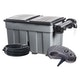 Heissner Durchlauffilter-Set 36m³ - 8100 l/h - 36W UVC (FPU36000-00)