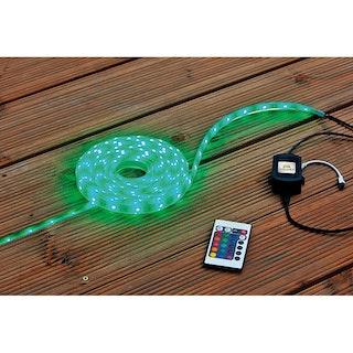 Heissner LED-Band Starter-Set Farbwechsel 500 cm (L124-T)