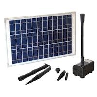 Heissner Solar-Teichpumpen-Set ca.1000 l/h (SP1000-00)