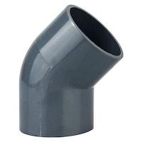 Heissner Klebe-Winkel 45° (PVC), 50mm (Z743-00)