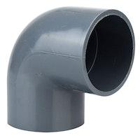 Heissner Klebe-Winkel 90° (PVC), 50mm (Z744-00)