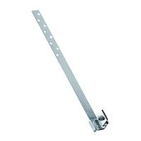 HEUEL Dachtrittsystem MultiStep Schienenhalterung für Ton- und Betonpfannendächer - Alu-natur