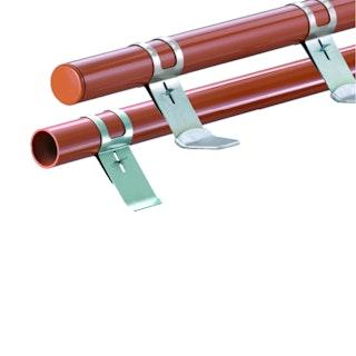 HEUEL Schneefangsystem Pipe Alu-Rohr 2,0 m - verschiedene Farben