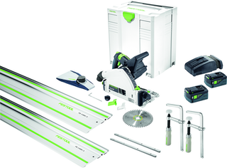 Festool Akku-Tauchsäge TSC 55 Li 5,2 REBI-Plus-SCA Camp SET