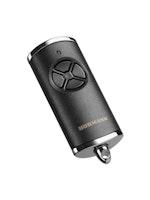 Hörmann Handsender HSE 4 BiSecur schwarz inkl. Batterie und Schlüsselring