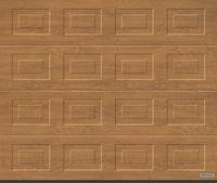 Hörmann Garagentor Sektionaltor LPU42 S-Kassette Decograin Holzdekor Golden Oak