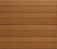 Hörmann Garagentor Sektionaltor LPU42 M-Sicke Decograin Holzdekor Golden Oak