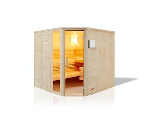 Infraworld Sauna Urban - 40 mm Massivholzsauna