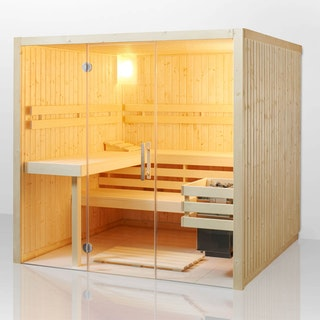 Infraworld Sauna Panorama - Elementsauna mit Glasfront