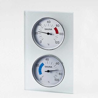 Infraworld Klimamessstation mit Glasrahmen