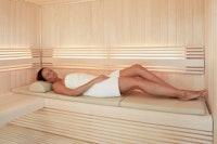 Infraworld Bankauflage für Sauna (LxBxH = 1950 x 550 x 40 mm)