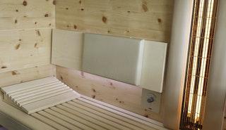 Infraworld Polster für Sauna Rückenlehne (LxBxH = 270 x 460 x 35 mm)