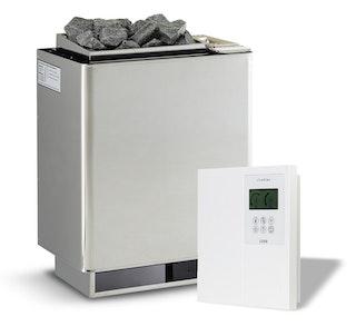 Infraworld Verdampferofen-Set Verdampferofen Hotline S7 + Steuerung Saunacontrol A0 (Slimline 1200)