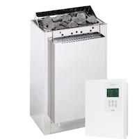 Infraworld Verdampferofen-Set Verdampferofen Hotline S4 + Steuerung Saunacontrol A0 (Slimline 1200)