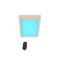 Infraworld Farblicht Sion 2 Espe (für Kabinen bis 8 m² Raumfläche)