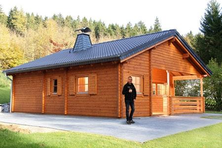 Unser technischer Leiter der Ferienhausmontage: Jens Schütt