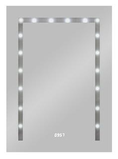 LED Lichtspiegel Timelight 50 x 70