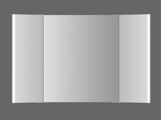 LED-Klappspiegel Swing  110x70cm