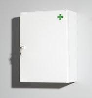 Standard Medischrank 1-t. weiß