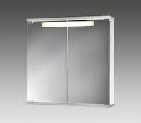 Spiegelschrank Cento 60 LS weiß/aluoptik